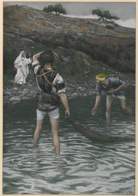 Calling of St. Peter and St. Andrew (James Tissot)