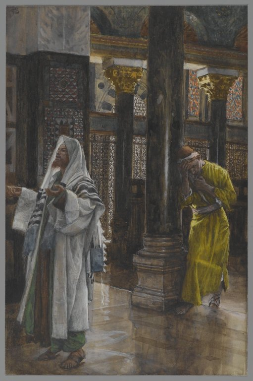 The Pharisee and the Publican (James Tissot)