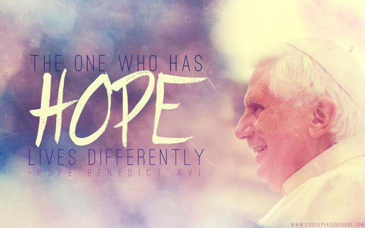 The one who has hope