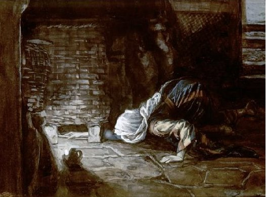 The lost drachma (James Tissot)